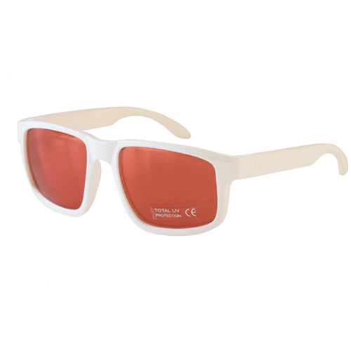 [NANNINI] NYC-ONE / Glossy White-Red Metal Lens