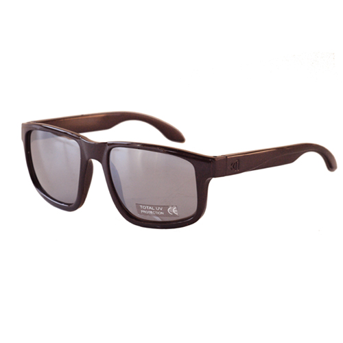 [NANNINI] NYC-ONE / Glossy Chocolate-Silver Mirror Lens