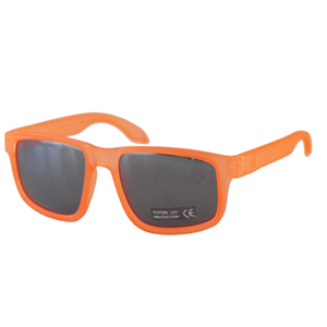 [NANNINI] NYC-ONE / Transparent Orange Fluo-Silver Mirror Lens
