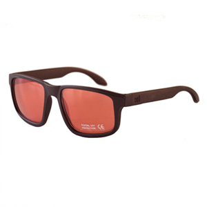 [NANNINI] NYC-ONE / Matt Chocolate-Red Metal Lens