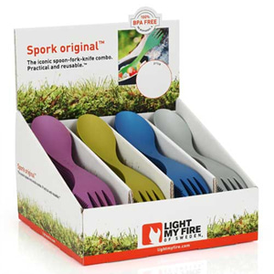 [Light My Fire] CPID-Spork original Peacock mix 80pcs